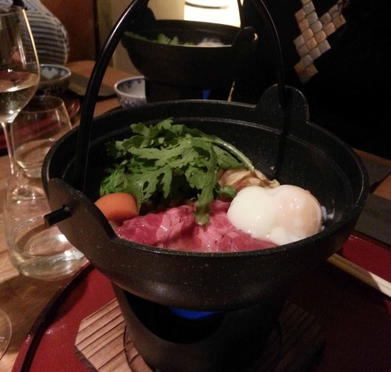 Japanese cuisine Yama - sukiyaki