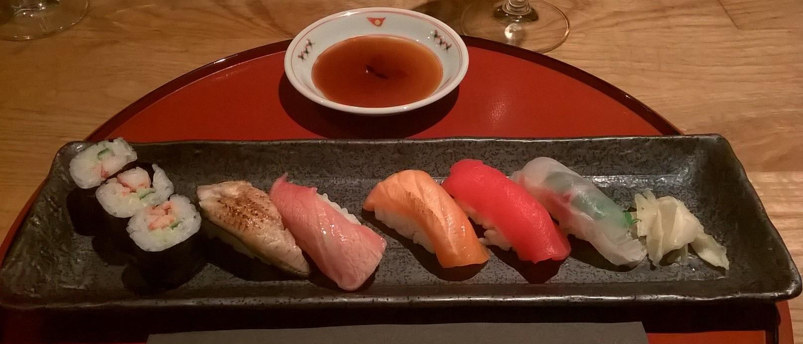 Japanese cuisine Yama - sushi