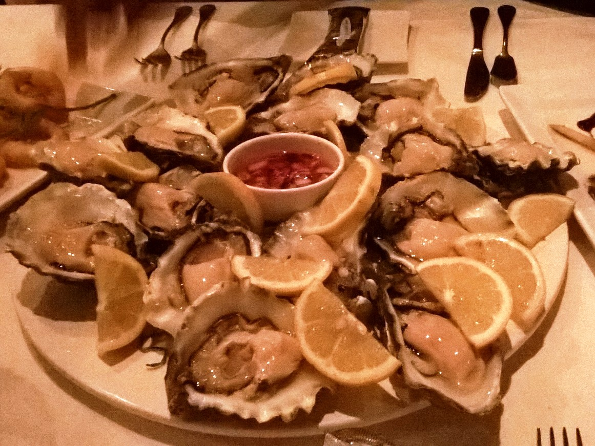 Vis aan de Maas - oysters