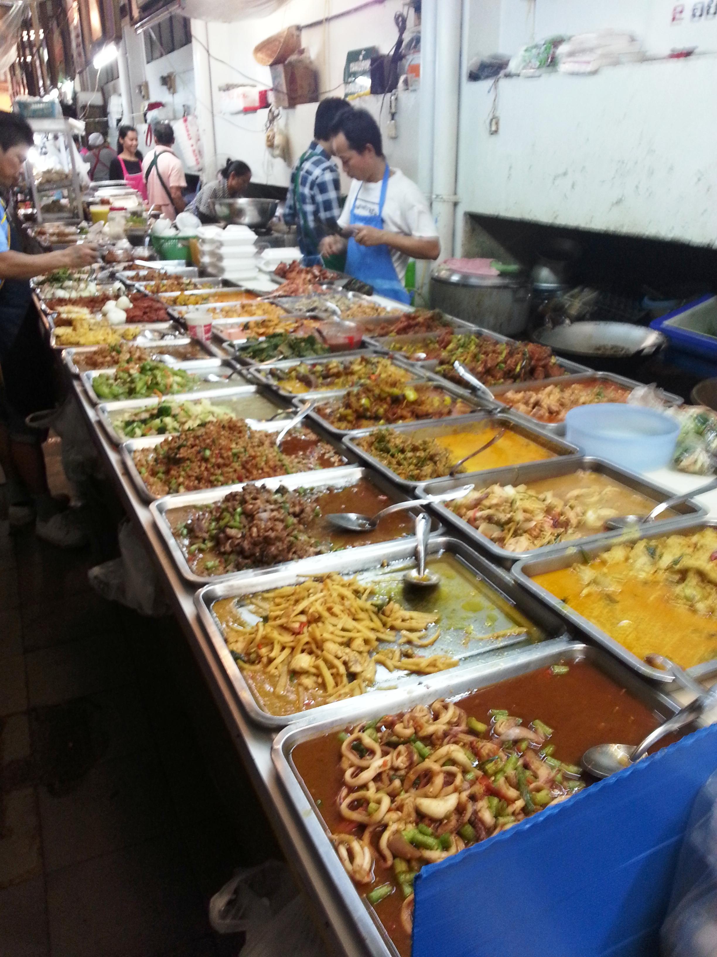 Bangkok street food - food plus 2
