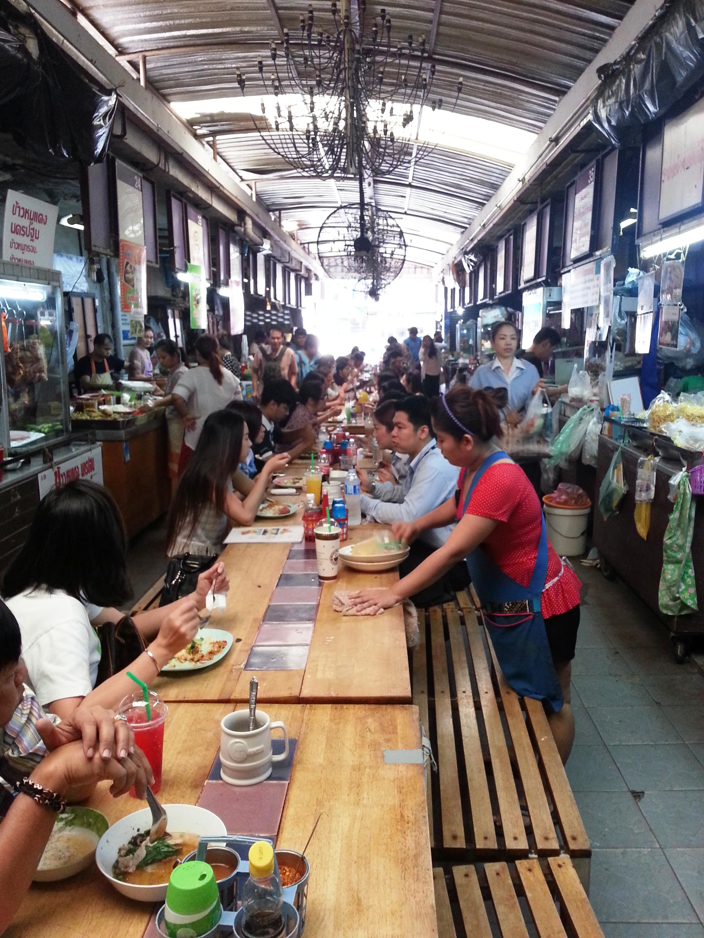 Bangkok street food - food plus