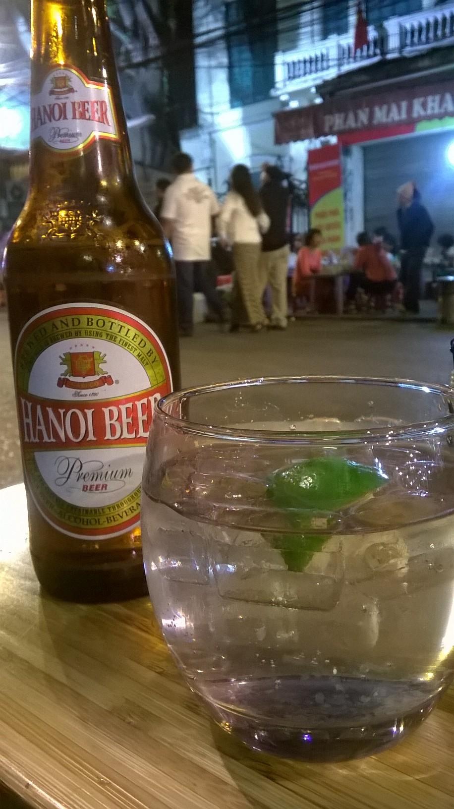 Hanoi - beer
