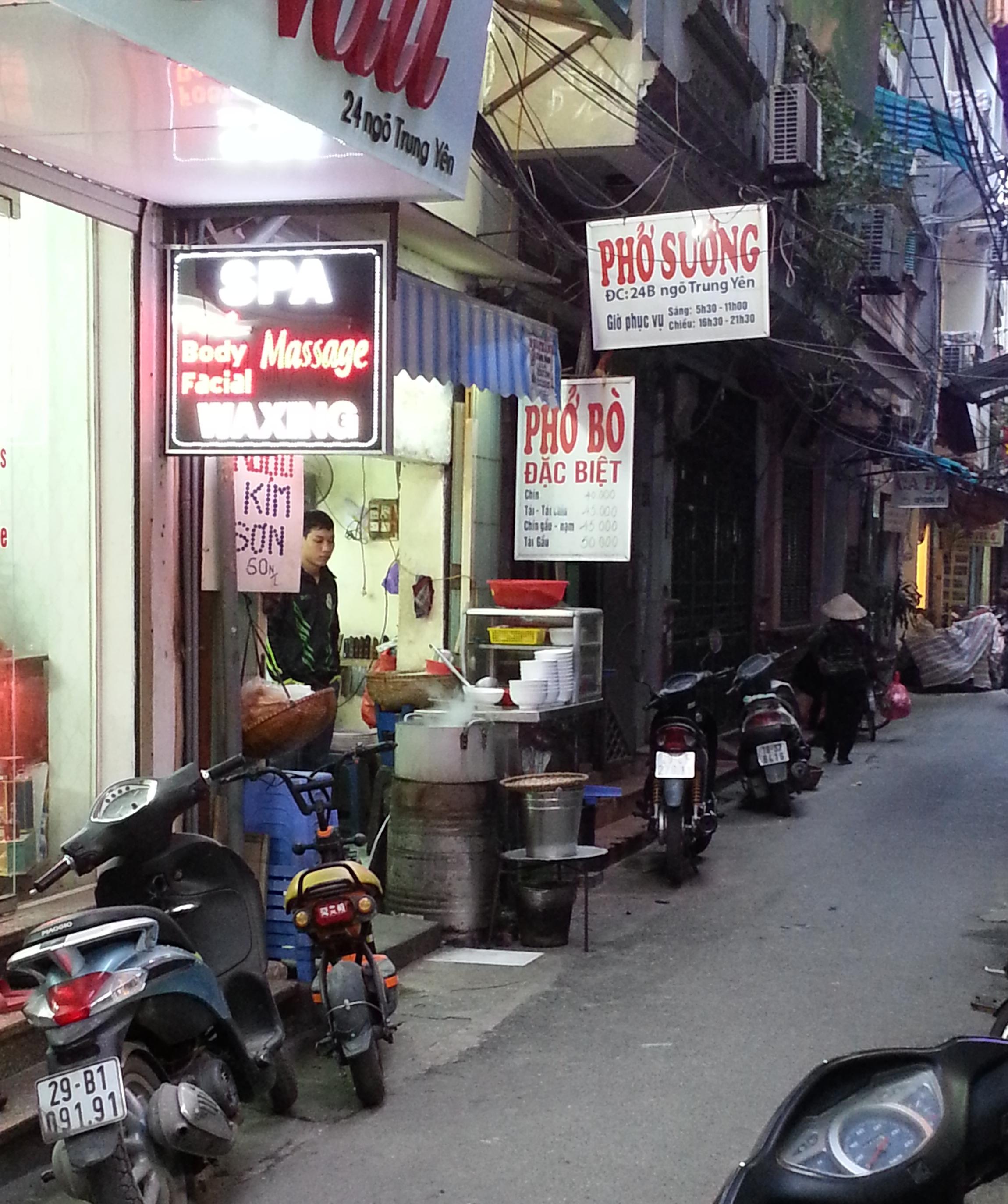 Hanoi - pho restaurant