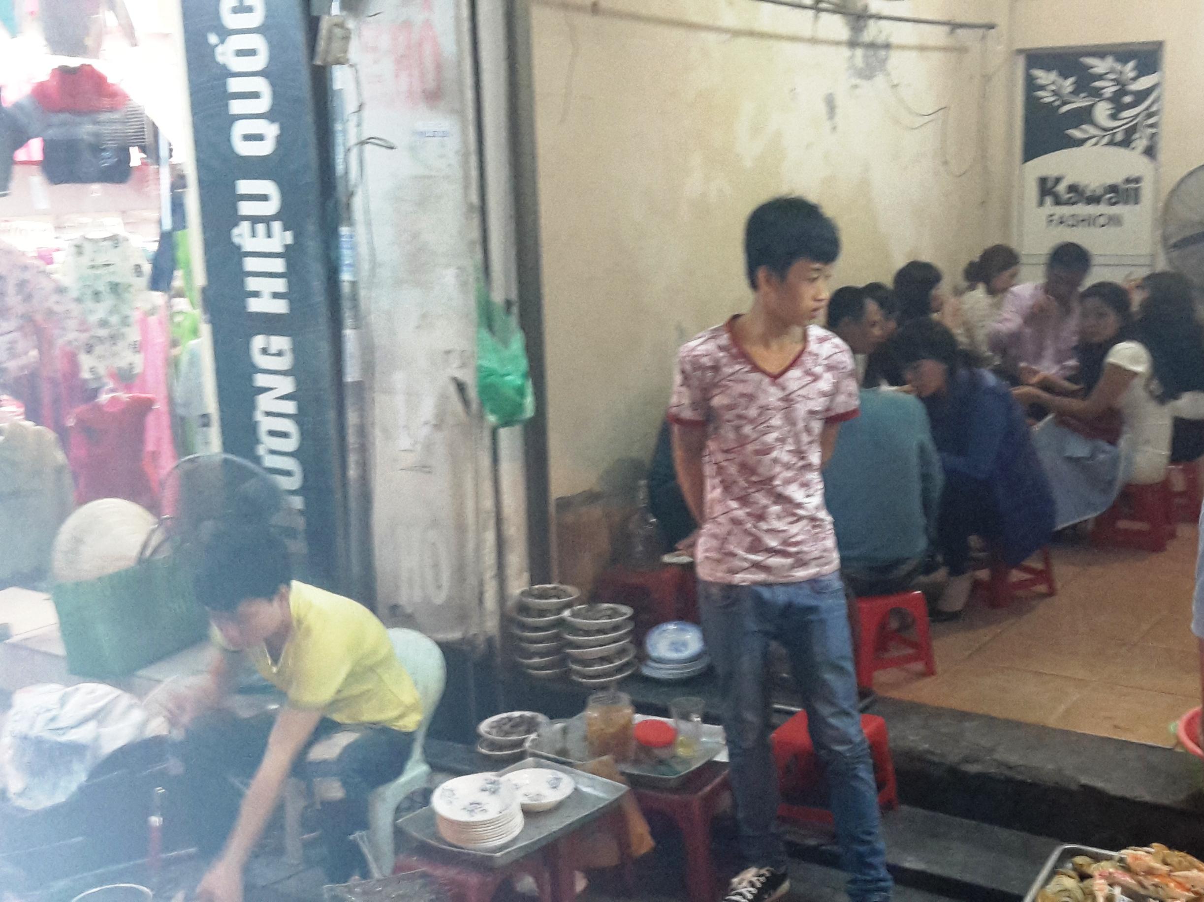Hanoi - seafood pop up