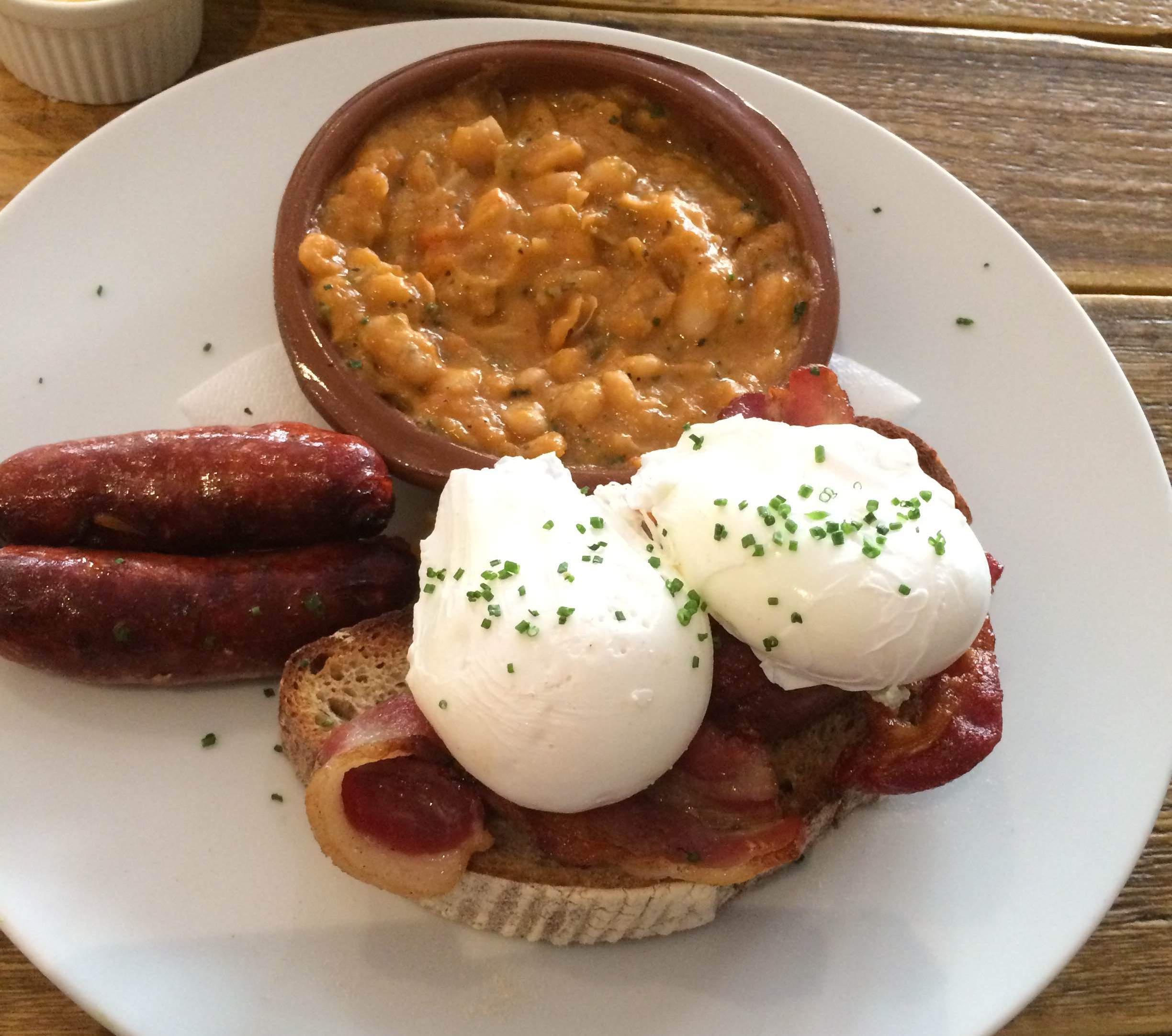 Drovers dog - breakfast cassoulet
