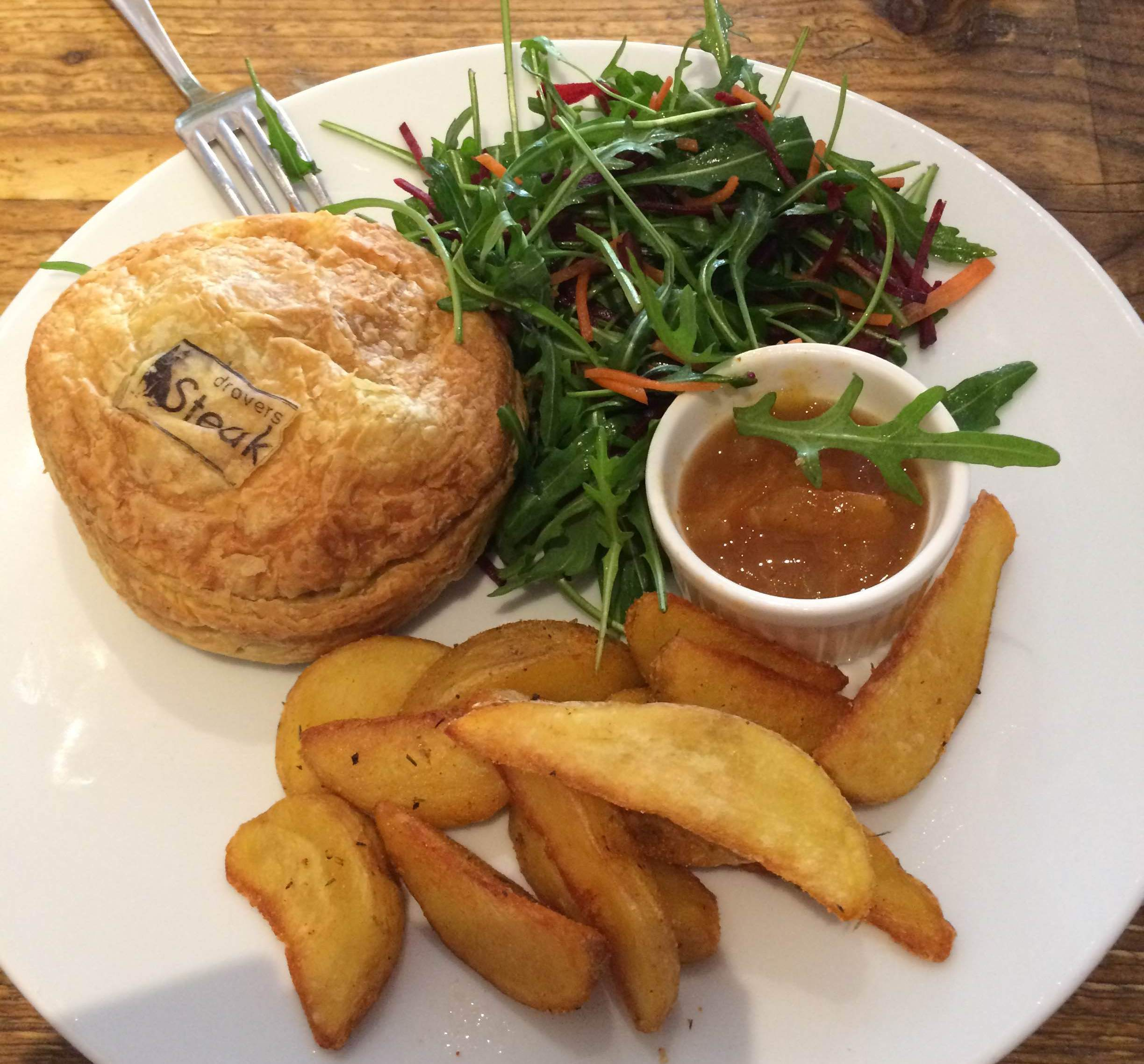 Drovers dog - steak pie