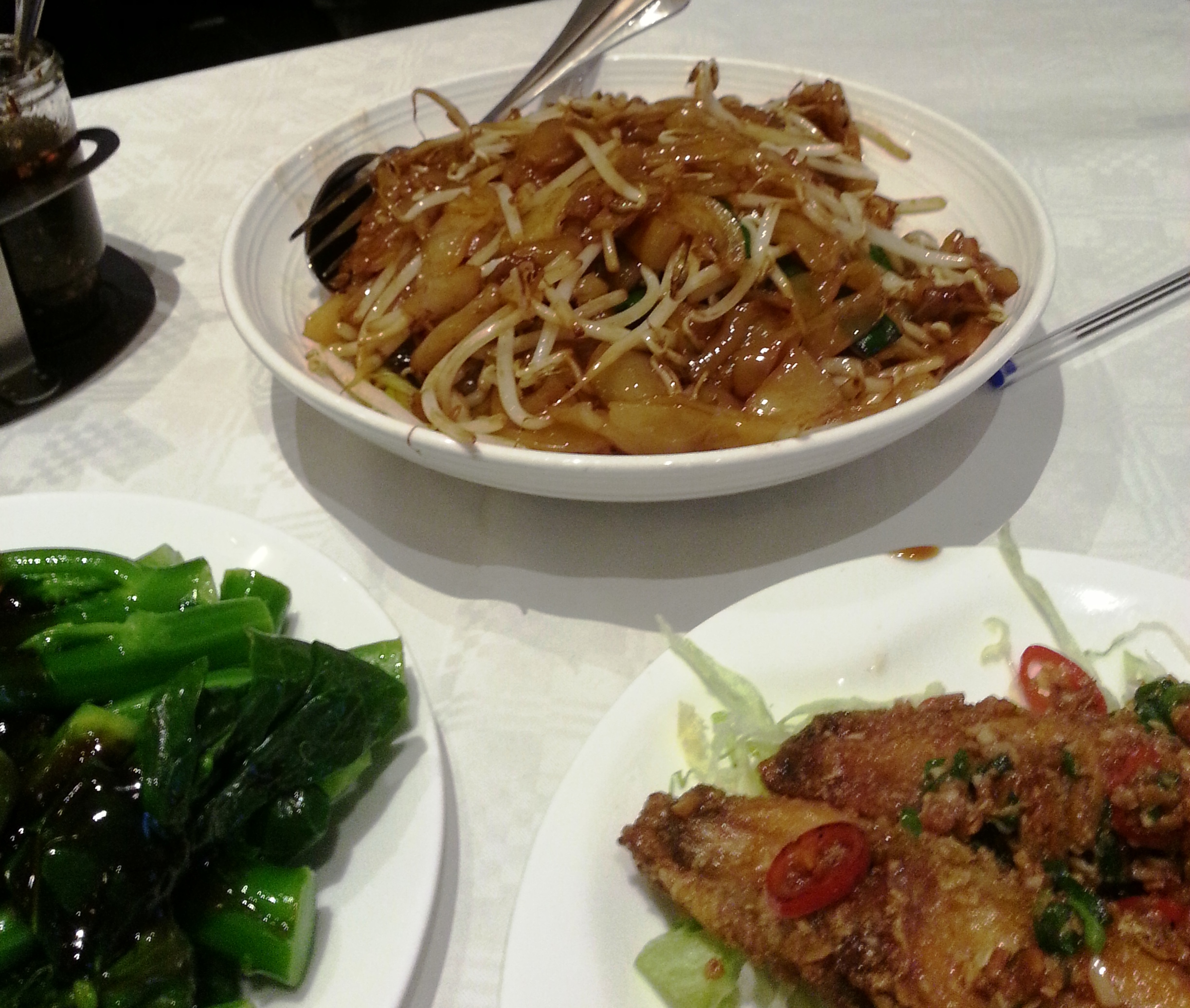 Grand garden - flat rice noodles