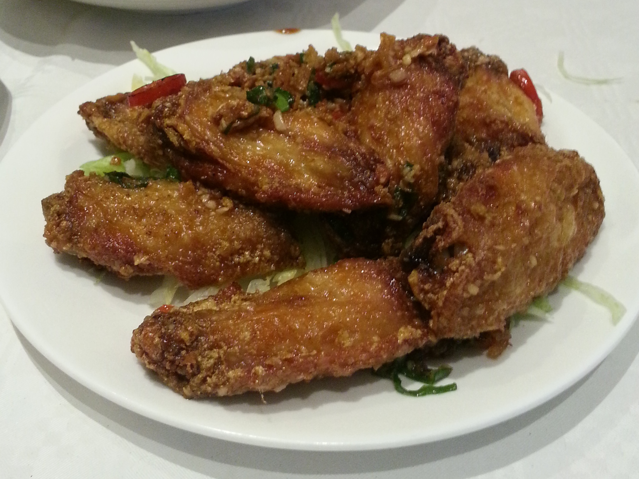 Grand garden - fried chicken wings