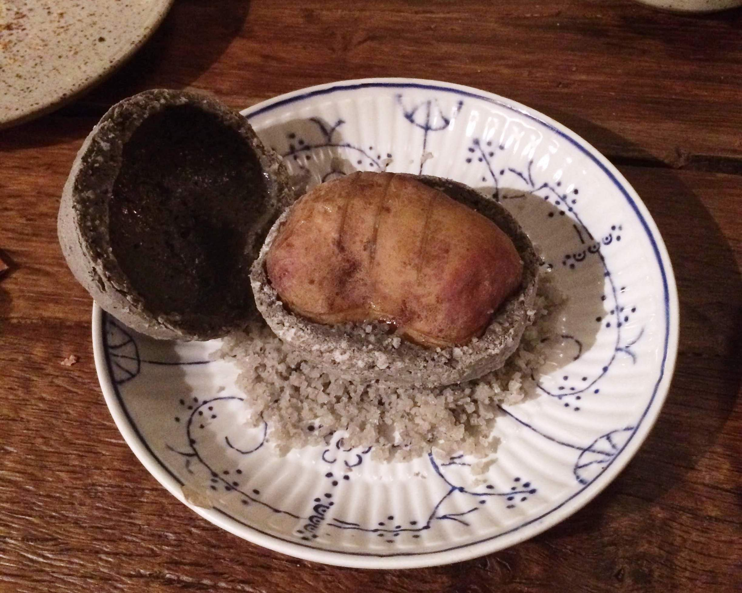 In de Wulf - potato in salt crust