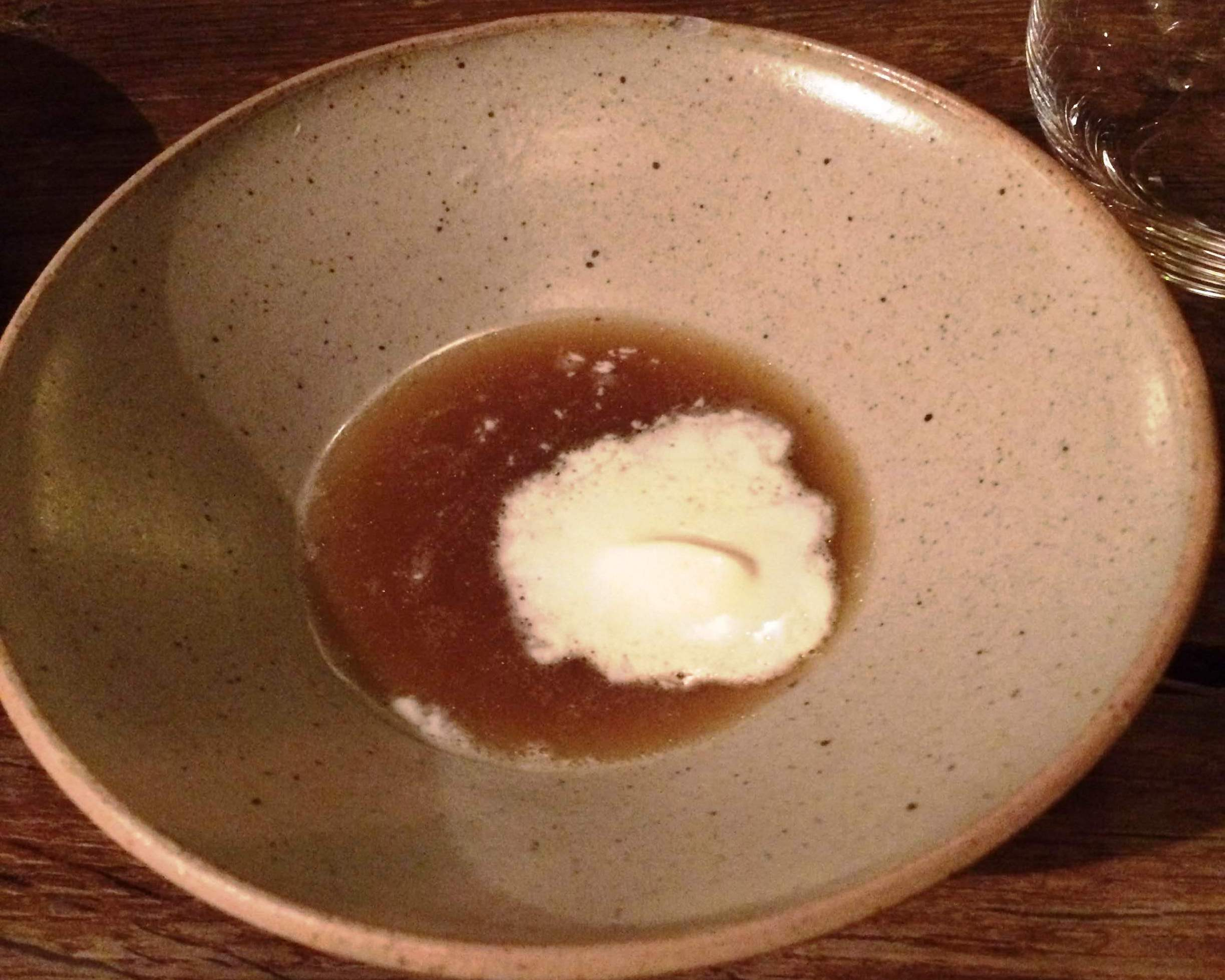 In de Wulf - scallop broth