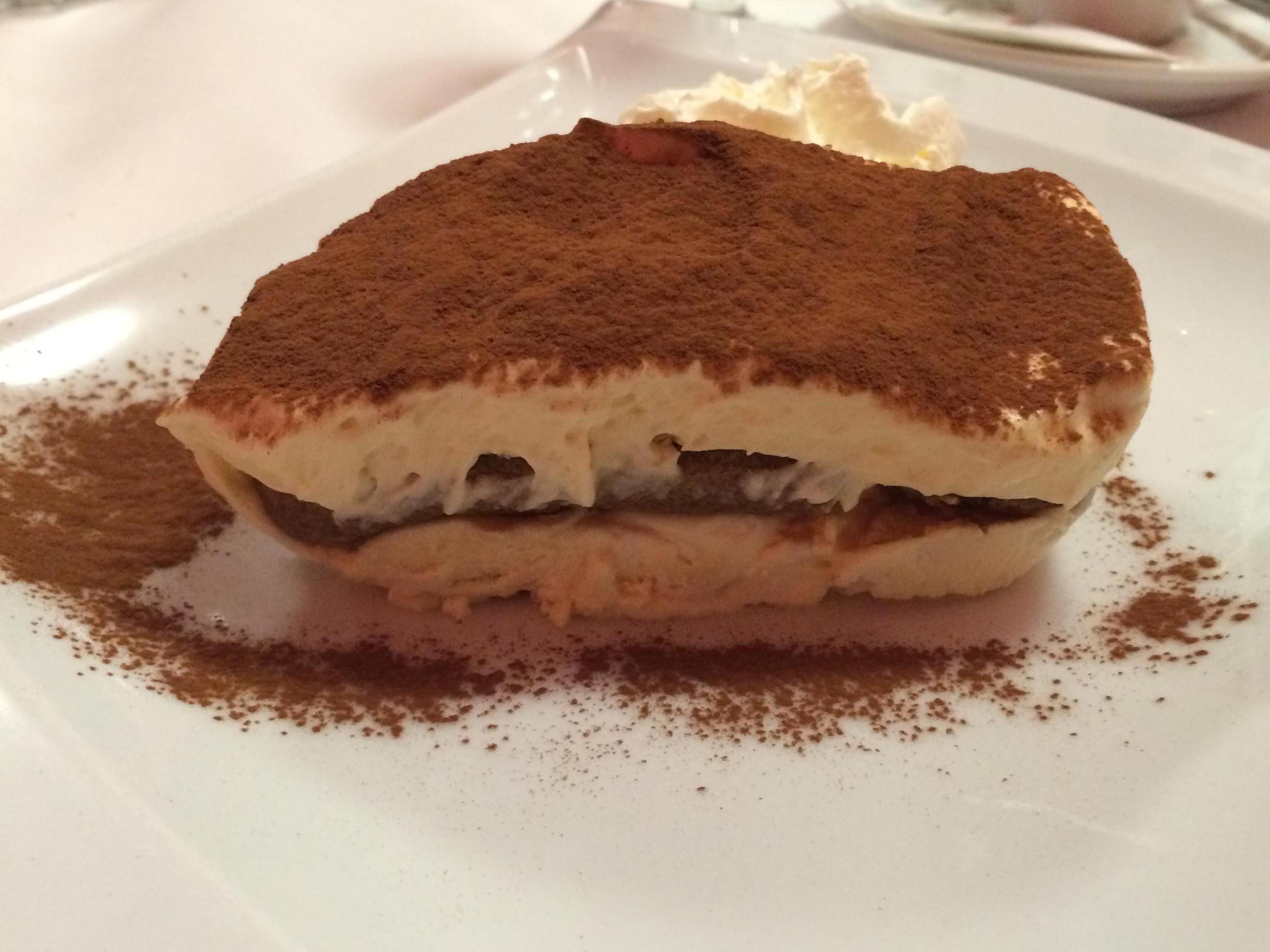 Rocco's Pizza - tiramisu