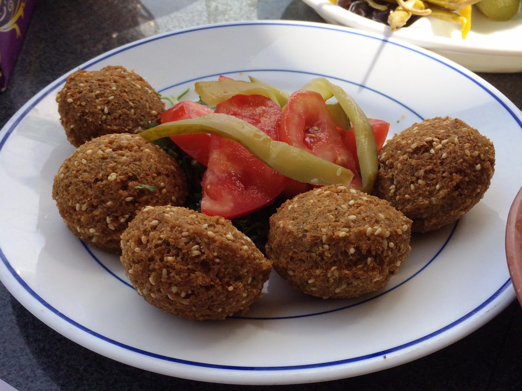 Lebanese flower - falafel