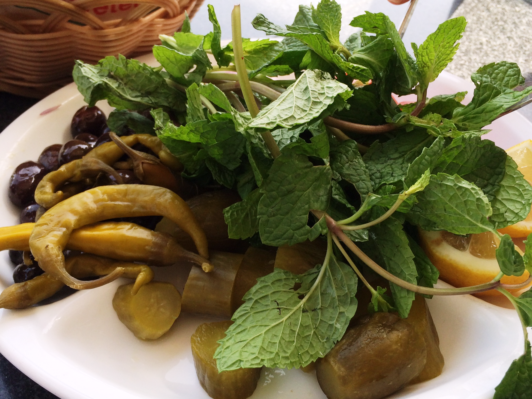 Lebanese flower - pickles