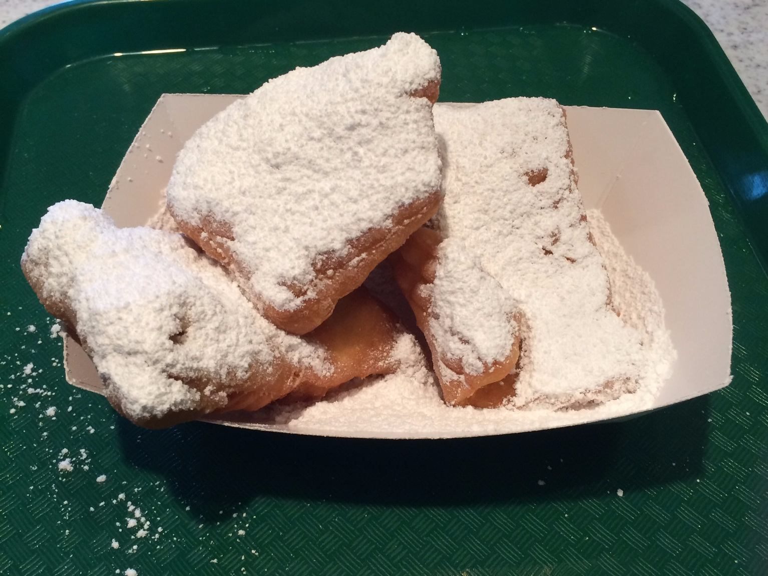 New Orleans Cafe du Monde - beignets
