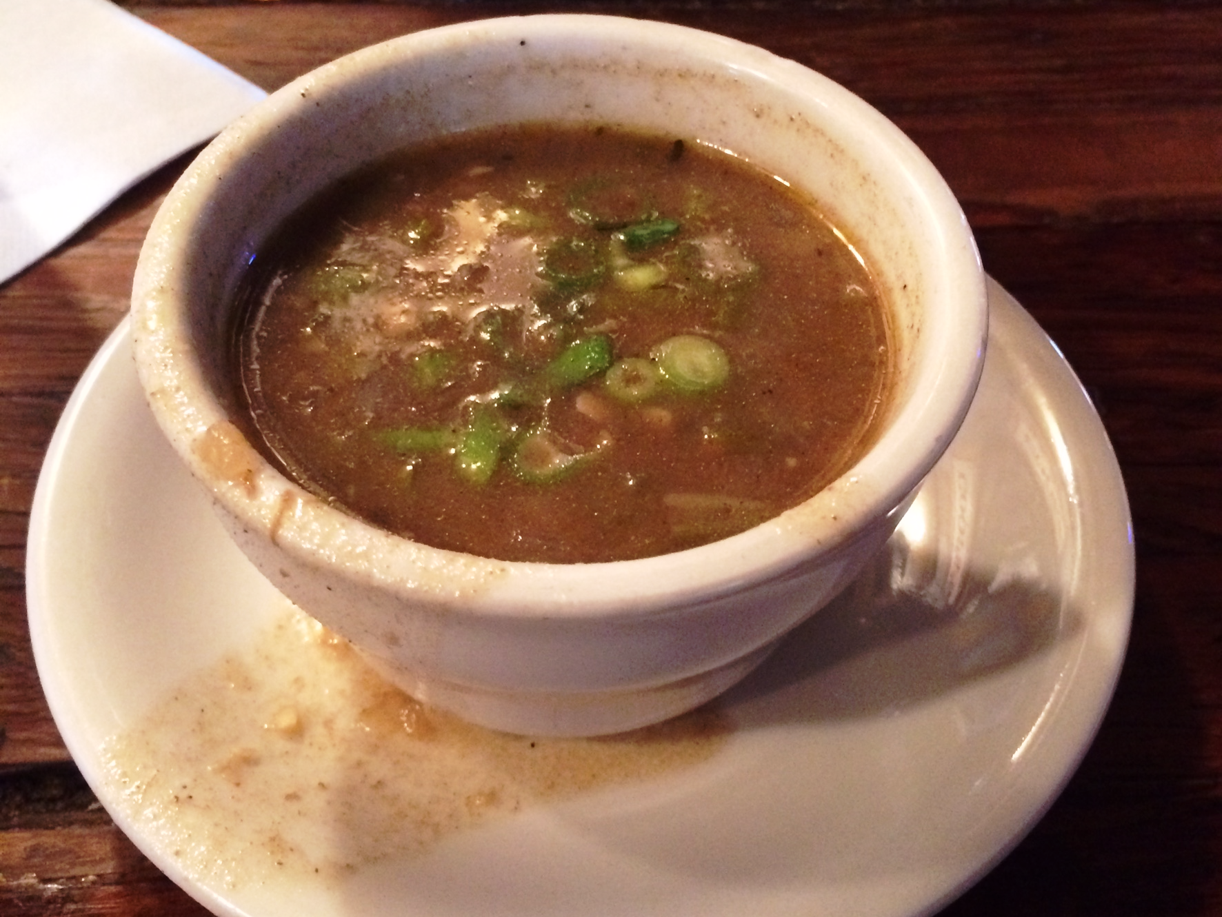 New Orleans Coop's Place - gumbo