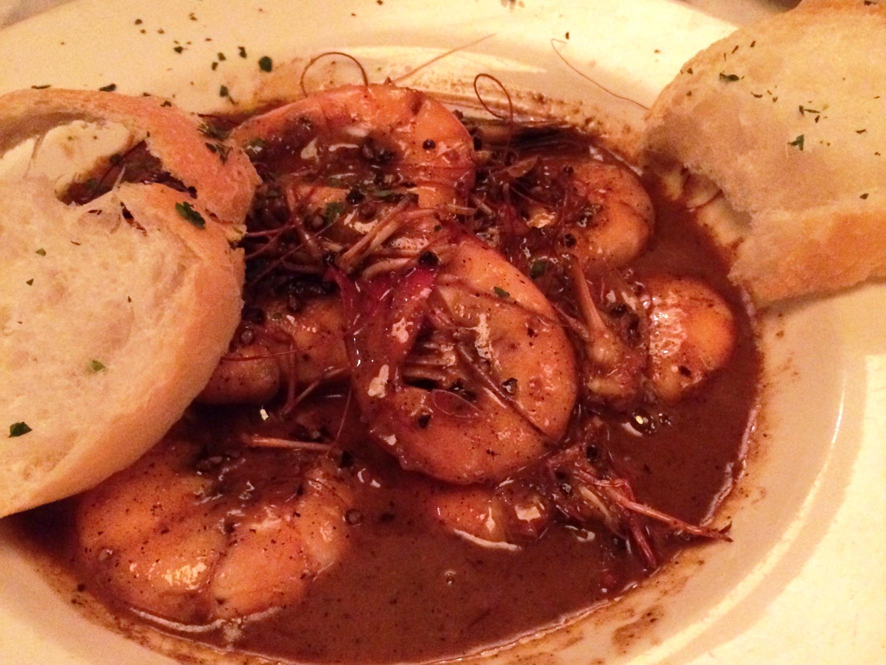 New Orleans Mr B's Bistro - barbeque shrimp