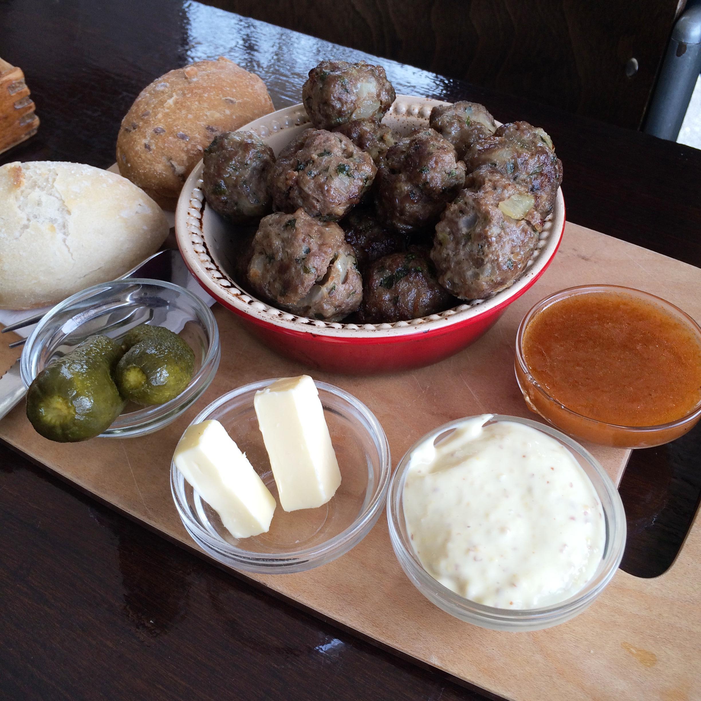 Lof der Zoetheid - meatballs